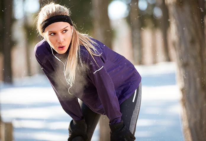 Kobiece ubrania do biegania